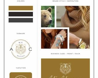 Branding Kit, Branding Package, Logo Design Package, Branding Kit Design, Blog Branding Kit, Business Logo, Business Branding, Logo Design