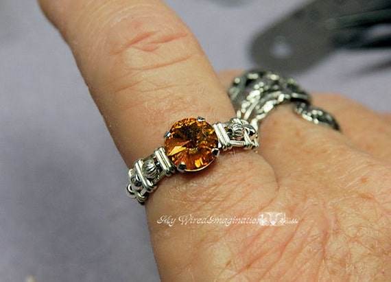 Wire Wrap a Ring With a Clasp Learn How to Wire Wrap Basic