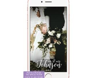 Customisable-Custom-Wedding Snapchat Filter Geofilter Wedding Fliter Wedding Geofilter Wedding Filter Wedding Snap Chat Gold Glitter Filter