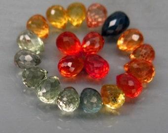 Gemstone - 6.10 Carat Sapphire dealer Lot - Fancy color Sapphire Wholesale x 20