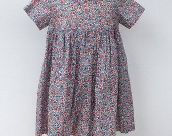 Liberty Print Empire Line dress