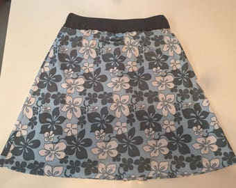 READY to SHIP - Modest swim skirt with shorts Chlorine Resistant Running Skirt with Shorts Revamped Straight A style-