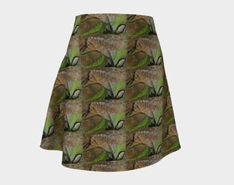 Iguana Skin Skirt