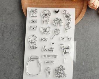 Sweet Stamp & Die Cut Set
