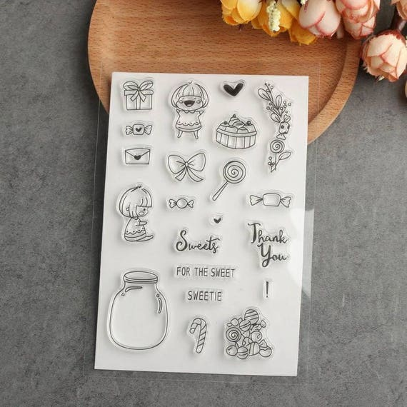 Sweet Stamp & Die Cut Set