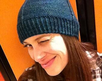 Knit Hat PATTERN, Beanie, Knit Beanie, Hat, Tuque, Knit Tuque