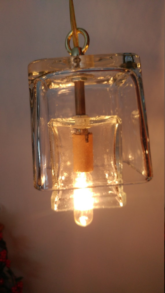 Vase hanging light