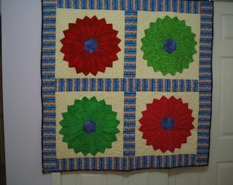 Four Flowers quilt