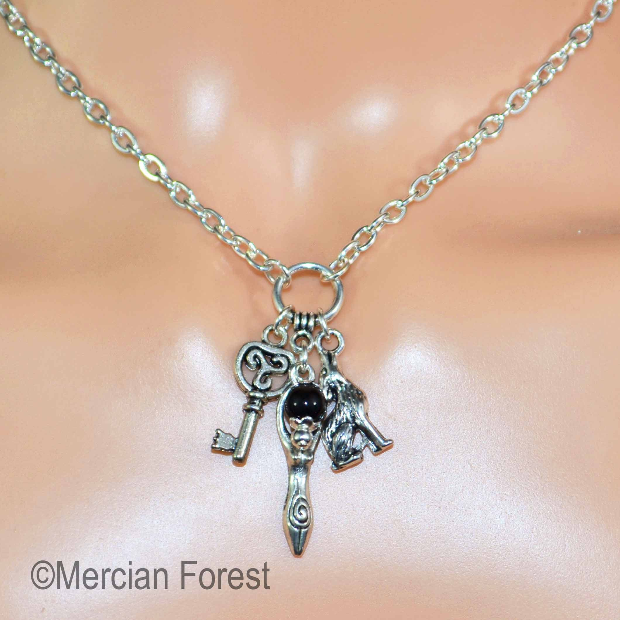 goddess medallion hecate witch pendant hive of mind magic best b and jewellery photos flickr the jewelry world occult mixmage silver tags devotional s