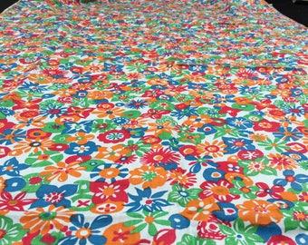 Vintage fabric Dirndl Heidi Fabric 50cm x 75 cm apron fabric flowers
