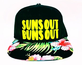 Sun out buns out, Trucker Hat, Custom Hats