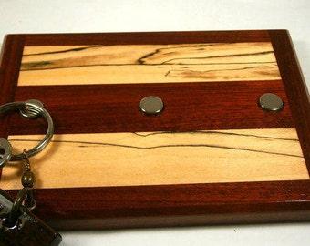 Key Holder / Wood Key Holder / Magnetic Key Holder / Christmas Gift / Wedding Gift / Decorative Key Holder / Housewarming Gift