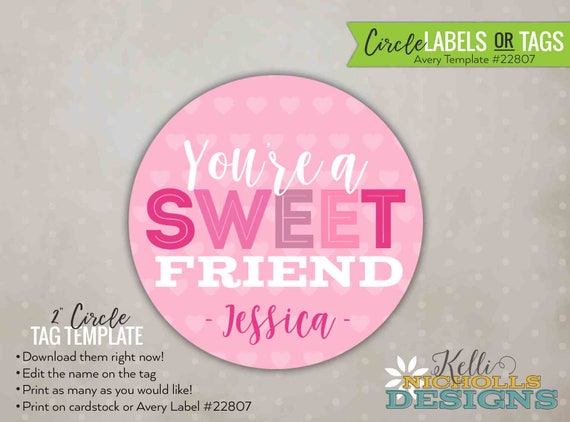 Avery Round Labels 22807 Template Gallery Template Design Ideas