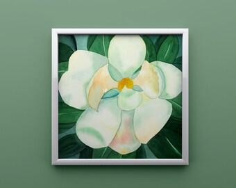 Magnolia Print from Original Watercolor
