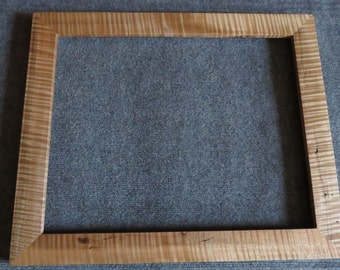 16 X 20 Quartersawn Curly Maple Picture Frame