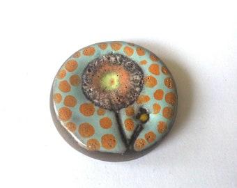 Tesserae or ceramic cabochon