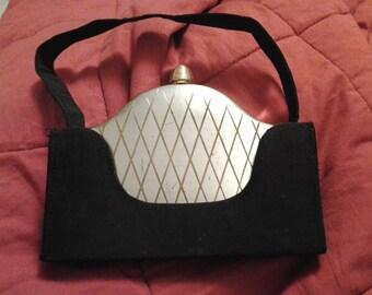 Vintage Volupte carryall compact purse