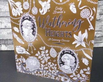 Emily Brontë Wuthering Heights: A Coloring Classic