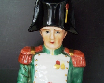 """Vintage 12"""" Capodimonte Style Napoleon Figurine"""