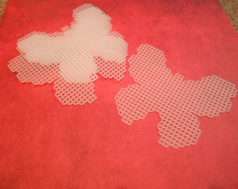 plastic canvas butterfly cutouts
