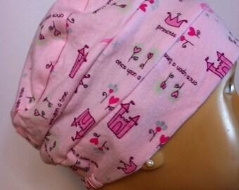 100% Cotton Adult Princess Jersey Knit Hat