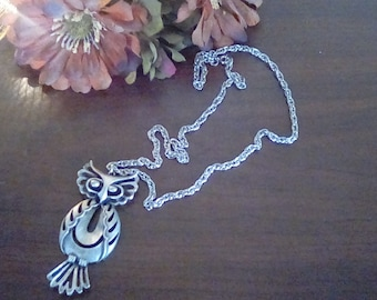 Torino Owl Necklace