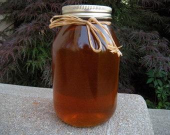 Raw Natural Honey, DIY Favors, DIY Wedding, DIY Baby Shower -3 lb Jar