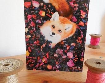 Fox postcard card