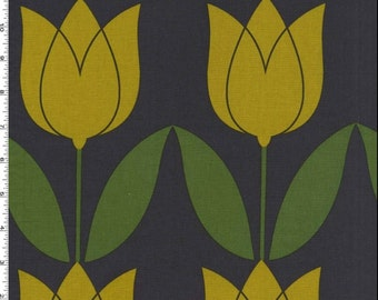 Seedling - Tulip - Citron by Thomas Paul from Michael Miller