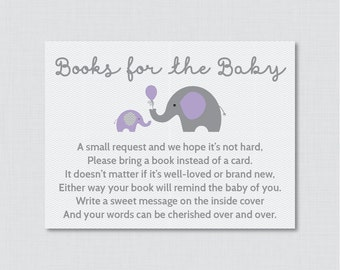 Elephant baby shower bring a book instead of a card invitation elephant baby shower bring a book instead of a card invitation inserts instant download filmwisefo