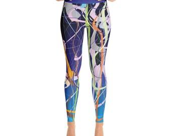 SGRIB Print - design 38 - Women's Fashion Yoga Leggings - xs-xl sizes