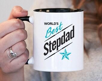 Worlds Best Stepdad Stepdad Gift, Stepdad Birthday, Stepdad Mug, Stepdad Gift Idea, Baby Shower, Mothers Day, mug gift
