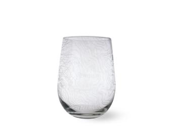 Custom Map Wine Glass