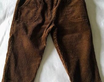 Vintage Goodlad Brown Corduroy Pants