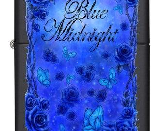 ZIPPO Blue Midnight Lighter CUSTOM