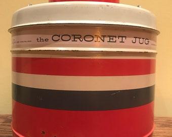 1950's Hamilton Skotch Corp. The Coronet Jug Insulated 1 Gallon Thermos