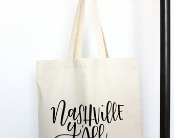 Nashville Y'all - Tote Bag