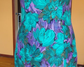 Saks Fifth Avenue Floral Fitted Dress