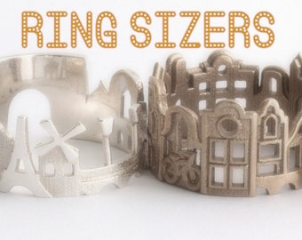 Cityscape Ring Sizers