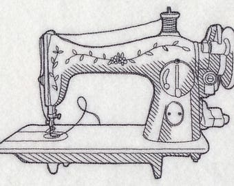 SEWING MACHINE Dish towel