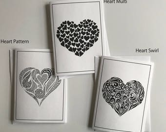 Valentine's Day Heart Cards