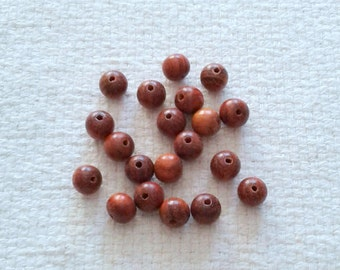 Wood 10 mm Beads - Set of 20                                                                                              03/2018