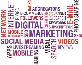 Digital marketing. SEO. Marketing strategy