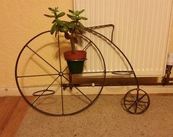 Penny Farthing Plant Pot Holder
