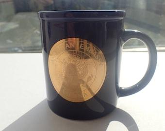 American Embassy Coffee Mug Vienna Austria Tea Cup