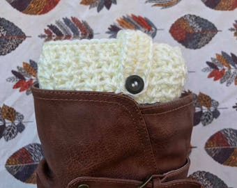 Sweet & Simple Boot Cuffs