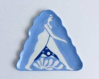 Mountain Girl Plate
