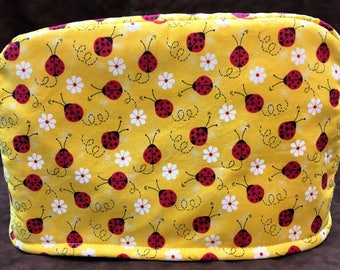2-Slice Lady Bugs Reversible Toaster Cover