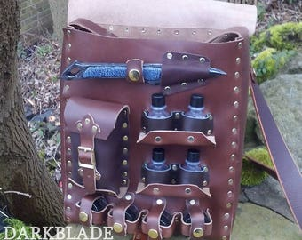 Healer satchel for Larp, Cosplay or Costume, the Chirurgeon Companion