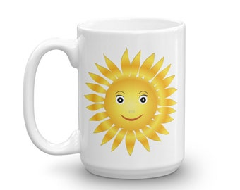 Good Morning Sunshine Coffee Mug,  Morning Sunshine Coffee Mug, Gift For Her, Valentine's Day Gift, Cute Coffee Cup You Are My Sunshine Mug